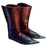 Two-Toned Boots (Fire and Lightning Resistances)