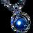 파란 진주 목걸이