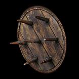 Alder Spiked Shield