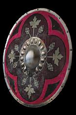 Cardinal Round Shield