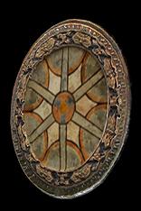Baroque Round Shield