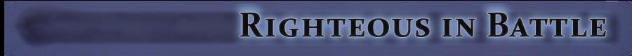 Righteous in Battle