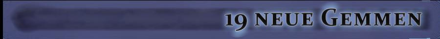 19 neue Gemmen