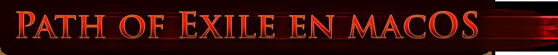 Path of Exile en macOS