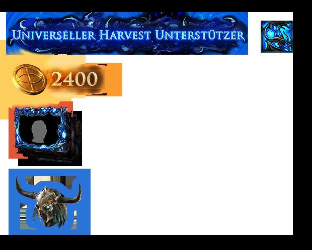 Universelles Harvest Unterstützerpaket