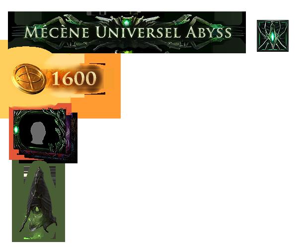 Pack de mécène Universel Abyss