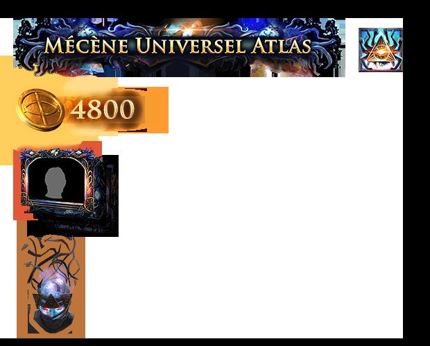 Pack de mécène Universel de l'Atlas