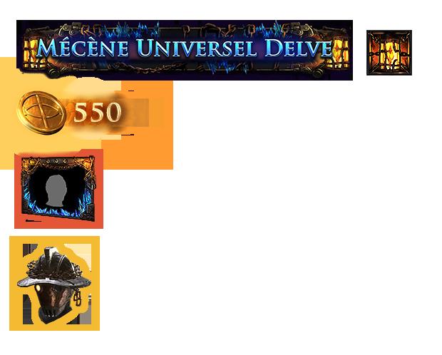 Pack de mécène Universel Delve