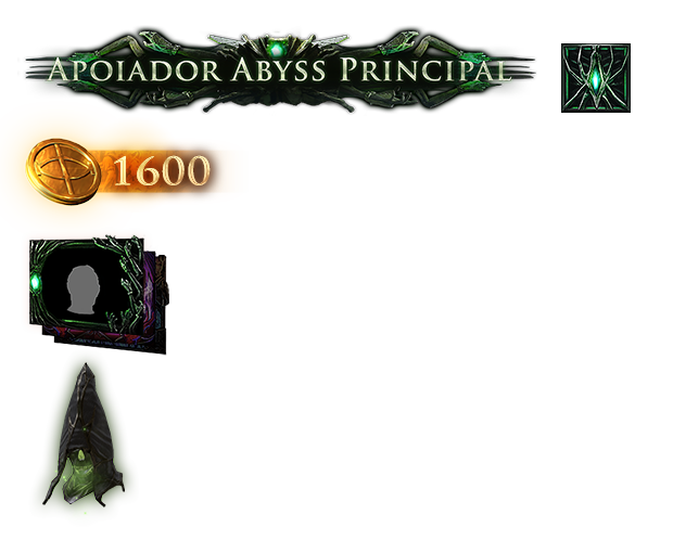Pacote Apoiador Abyss Principal