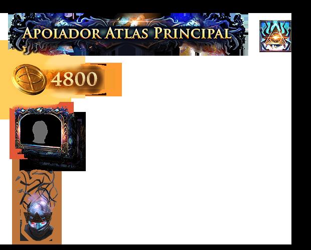 Pacote Apoiador Atlas Principal