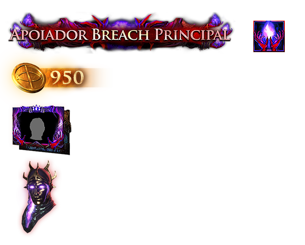 Pacote Apoiador Breach Principal