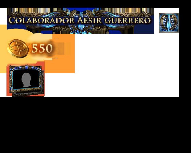 Paquete de Aesir guerrero