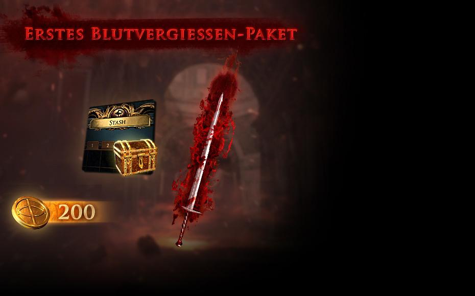Erstes Blutvergießen-Paket
