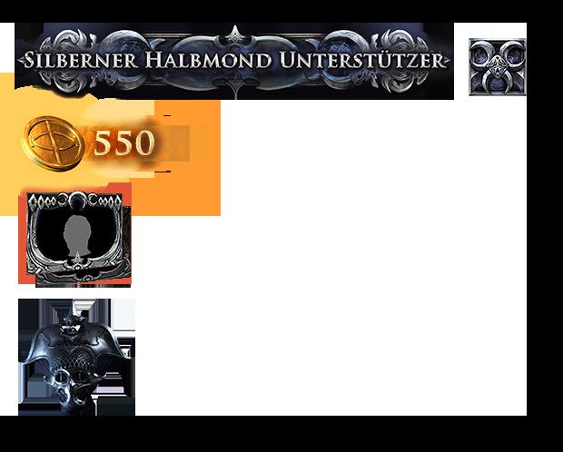 Silberner Halbmond Paket