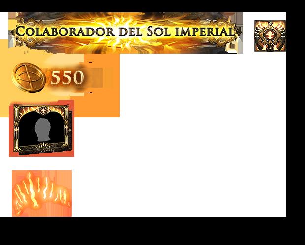 Paquete del Sol imperial