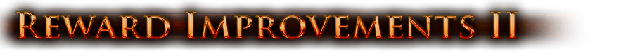Reward Improvements II