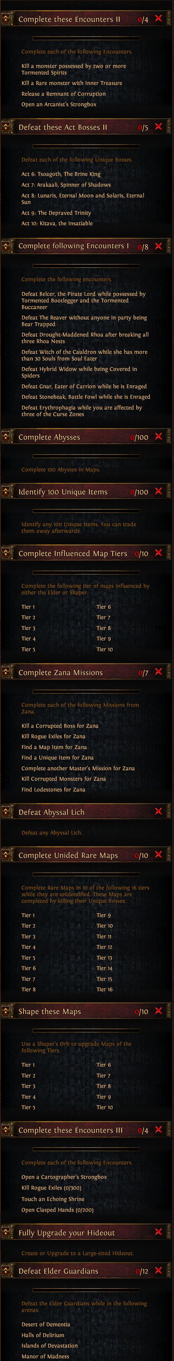 Wyzwania II