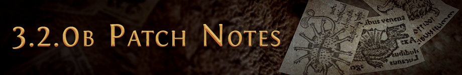 poe 3.2b patch notes