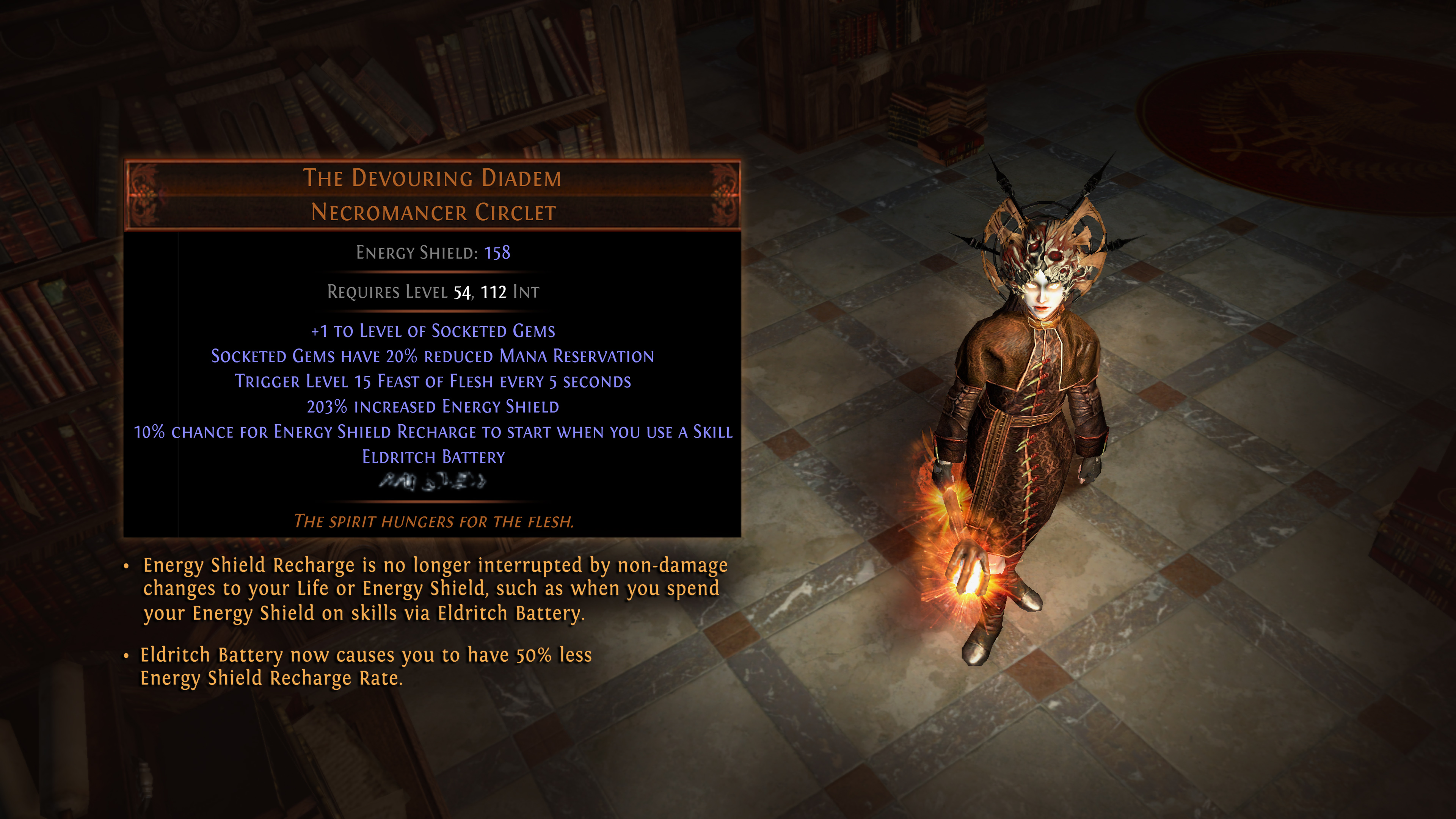 Balance Changes in Path of Exile: Betrayal : pathofexile