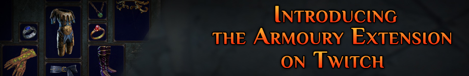 Forum - Announcements - Introducing the Armoury Extension on