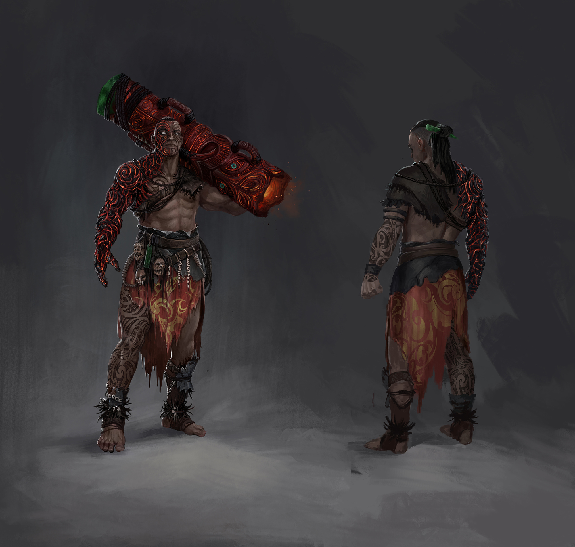 Forum - Announcements - Betrayal Concept Art - Path of Exile