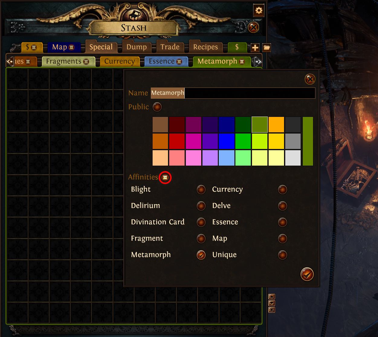 New Stash Tab Folders And Affinities System Path Of Exile Dev Tracker Devtrackers Gg Empower support, enhance support, portal. new stash tab folders and affinities